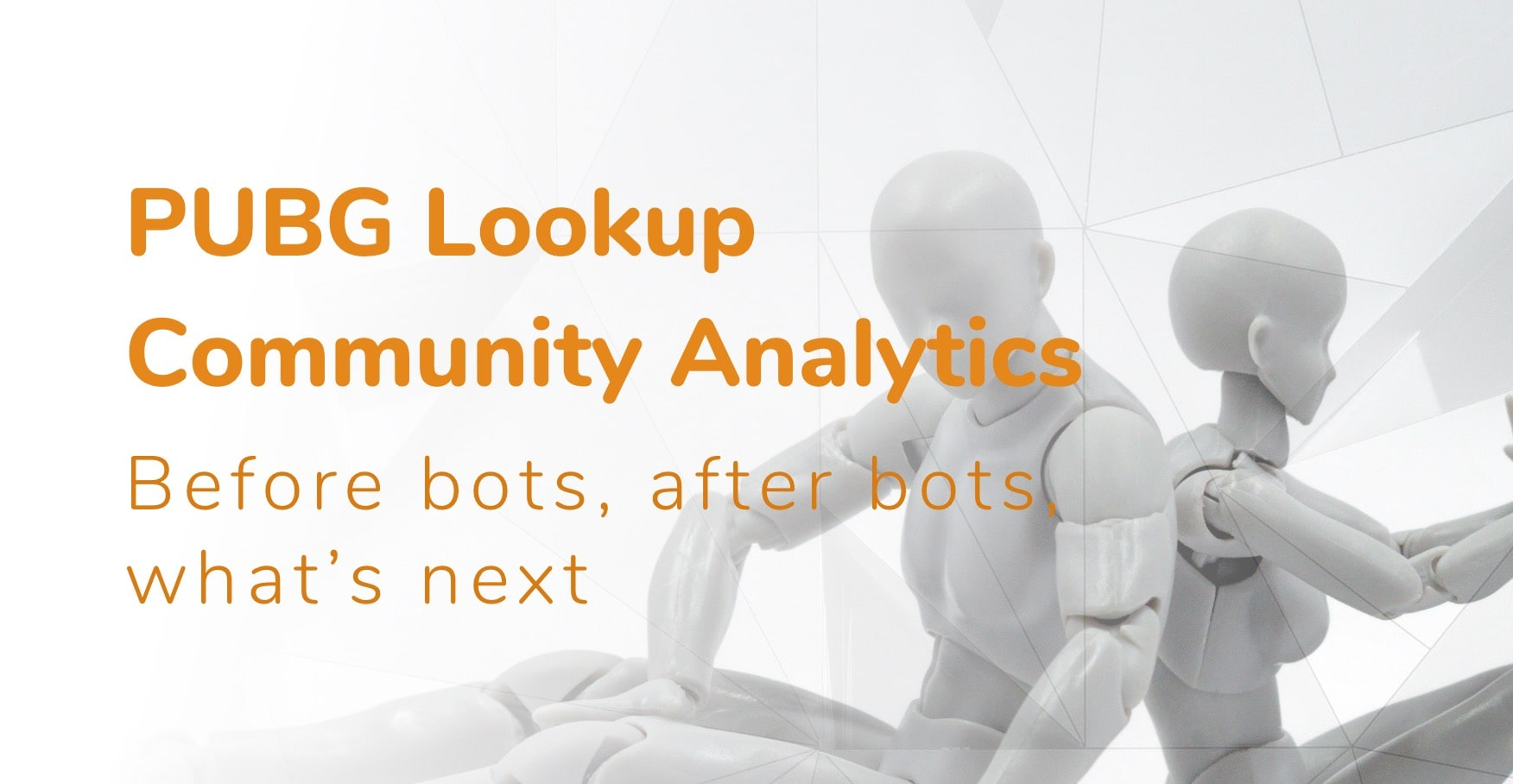 Community analytics in the age of bots